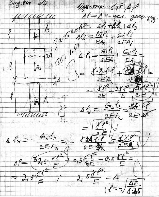 Примеры задач на кручение и изгиб с решением